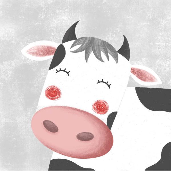 Dibuix d'una vaca